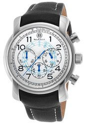 Ben & Sons Men's 'Mercury' Quartz Stainless Steel Watch - Silvertone