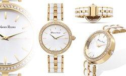 Lucien Pezzoni Aurelio Sforza Ladies Watch - White/Gold