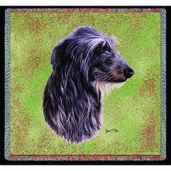 "Pure Country 54x54"" Scottish Deerhound Small Blanket - Multi"