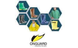 ONGUARD 74050 Neoprene on nylon Neotex Bib Overall with Plain Front, Yellow, Size 2X
