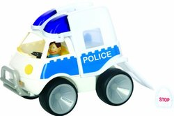 Get Ready 560-32 Gowi Toys Police Van