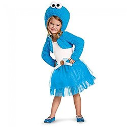 Sesame Street Hoodie Tutu - Cookie Monster NoColor