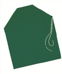 "SAFETYFLEX A41008.MD 38 x 48"" Apron, Medium, Green"