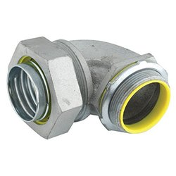 Raco 1/2 in. 90-Degree Insulated Elbow Connector