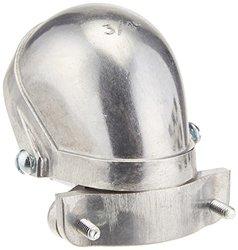 Hubbell-Raco 2403 EMT or Rigid/IMC Clamp Type Aluminum Entrance Head, 3/4-Inch
