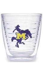 Tervis 1007879 McNeese State University Emblem Tumbler, Set of 4, 12 oz, Clear