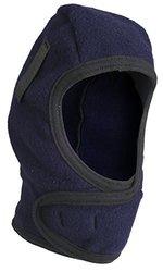 National Safety Apparel H74FL10 Nomex Fleece Winter Liner, Nomex Fleece, One Size, Navy