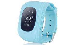 GPS Smart Kid's Tracker Wristwatch - Blue - Screen Size: 0.96""