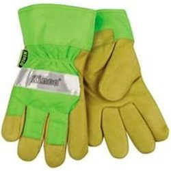 Kinco Retroreflective Gloves with Thermal Lining - Lime - Size: XL