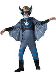 InCharacter Children's Bat Costume - Blue  - Size: 4