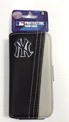 Forever Collectibles IPHNFLDMB5NY New York Yankees Executive Foldable AI5 Cover - Retail Packaging