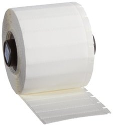 "Brady PTS-1.90-500-321 TLS 2200 and TLS PC Link 1.9"" Width x 0.5"" Height, B-321 Heat-Shrink Polyolefin, Matte Finish White BradySleeve Marker (500 per Roll)"