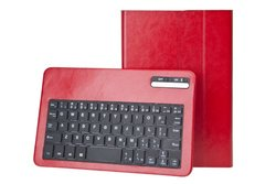 "Next Success Keyboard/Cover Case For 8"" Tablet - - Synthetic Leather red"