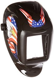 Sellstrom America Titan Nylon Lightweight Welding Helmet with Black Bezel