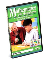 ETA hand2mind Staff Development Video Series: Mathematics with Manipulatives by Marilyn Burns, Color Tiles DVD