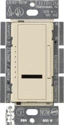 Lutron MIR-600M-ES Maestro IR 600-Watt Multi-Location Dimmer, Eggshell