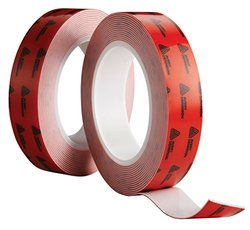 Avery Dennison AFB 6164W Double Sided Acrylic Foam Tape, White, 108 ft x 0.5 in, 25.2 mils Thick