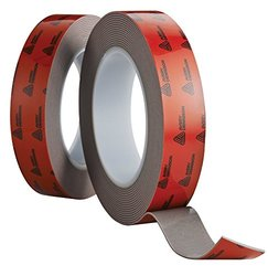 Avery Dennison AFB 6660G Double Sided Acrylic Foam Tape, Grey, 108 ft x 0.5 in, 25.2 mils Thick