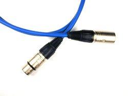 Conquest Sound OPMICN100-06 100-Foot Super Hi Definition Quad LoZ - Neutrik XLRF/XLRM Microphone Cable - Blue