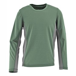 White Sierra Boys Sun Buster Long Sleeve T-Shirt - Fir - Size: X-Small