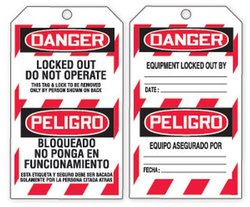 Accuform Signs Refill Tags Pack for QuickTags Safety Tag Dispenser(TDR321)