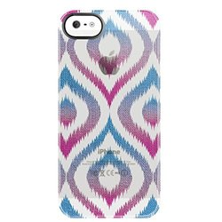 Gradient Ikat Frosted Deflector Hard Case for iPhone 5/5S
