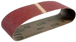 Hitachi 995558 4-Inch by 24-Inch Sanding Belt with AA40 Grit for the SB10T, 10-Pack