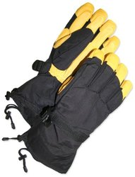 BDG 80-9-041101-XL Winter Lined Deerskin Leather Sport/Ski Glove, X-Large