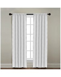 "Veratex American Collection Gotham Window Panel - 50"" x 84 Pearl"