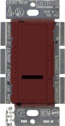 Lutron MIR-600-MR Maestro Ir 600-Watt Single-Pole Digital Dimmer, Merlot