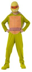 Rubie's Kids Teenage Mutant Ninja Turtles Michelangelo Costume Set - Green