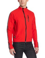 Men's Skyline Softshell Jacket - Chili Pepper Red - Size: S