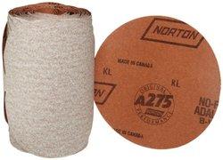 Norton No-Fil Adhesive Backed/Aluminium Oxide Adalox Abrasive Sanding Disc