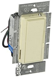 Lutron DVSCLV-603P-LS Diva 450-watt 3-Way Magnetic Low-Voltage Dimmer, Limestone