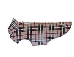 RC Pet Products Whistler Winter Wear V.2 Dog Coat, Size 30, Tan Tartan