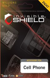 InvisibleShield for Samsung Exhibit 4G SGH-T759 Maximum - 1 Pack - Screen Protector - Retail Packaging - Clear