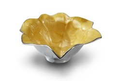 Julia Knight Lily Bowl, 8-Inch, Saffron