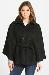 Jessica Simpson Women's Boucle Cape with Envelope Collar - Size: Large
