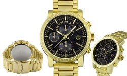 NY London Men's Essen Watch - Gold/Black