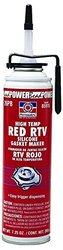 Permatex 81409 High-Temp Red RTV Silicone Gasket, 11 oz.