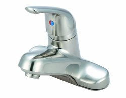 Aviditi Olympia Series L-6161-BN Elite Single Handle Lavatory Faucet, Brushed Nickle