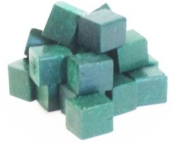 Harbor Sales HWB14b Beeswax for Candle Making,  Crafts and Encaustic Painting, Dark Green