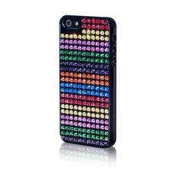 Bling-My-Thing Bling Rainbow Stripes Case for iPhone 5 (ei5-bm-bk-rbs)