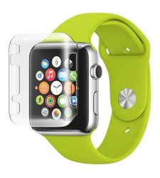 Insten Gel Bumper For Apple Watch iWatch - 38mm - Clear