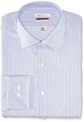 Van Heusen Men's Fit Flex Stripe Dress Shirt - Ice Blue - 15-1/2 x 32/33