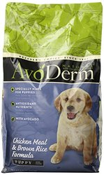 BREEDER'S CHOICE 528002 Single pack Avoderm Natural Puppy Dry Food for Dogs, 4.4-Pound