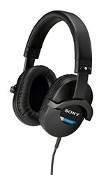 Sony Professional Studio Headphones w/ 50mm Driver Unit -Black(MDR-7510/1)