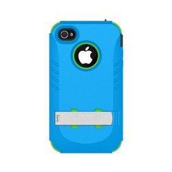 Trident Build Your Own Kraken A.M.S. Case for iPhone 4/4S - Blue & Green