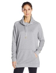 New Balance Women's Sunrise Sweatshirt - Light Grey Heather - Size: Large