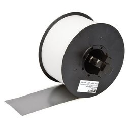"Brady 100'x2.25"" Mini Mark Industrial Label Printer Vinyl Tape - Gray"